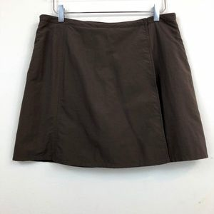 Royal Robbins Nylon Brown Skort Hiking Outdoors